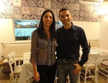 Daniela and Diego Biancofiore Bari