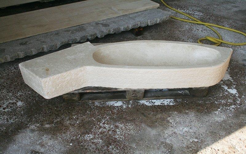 produzione catini in marmo