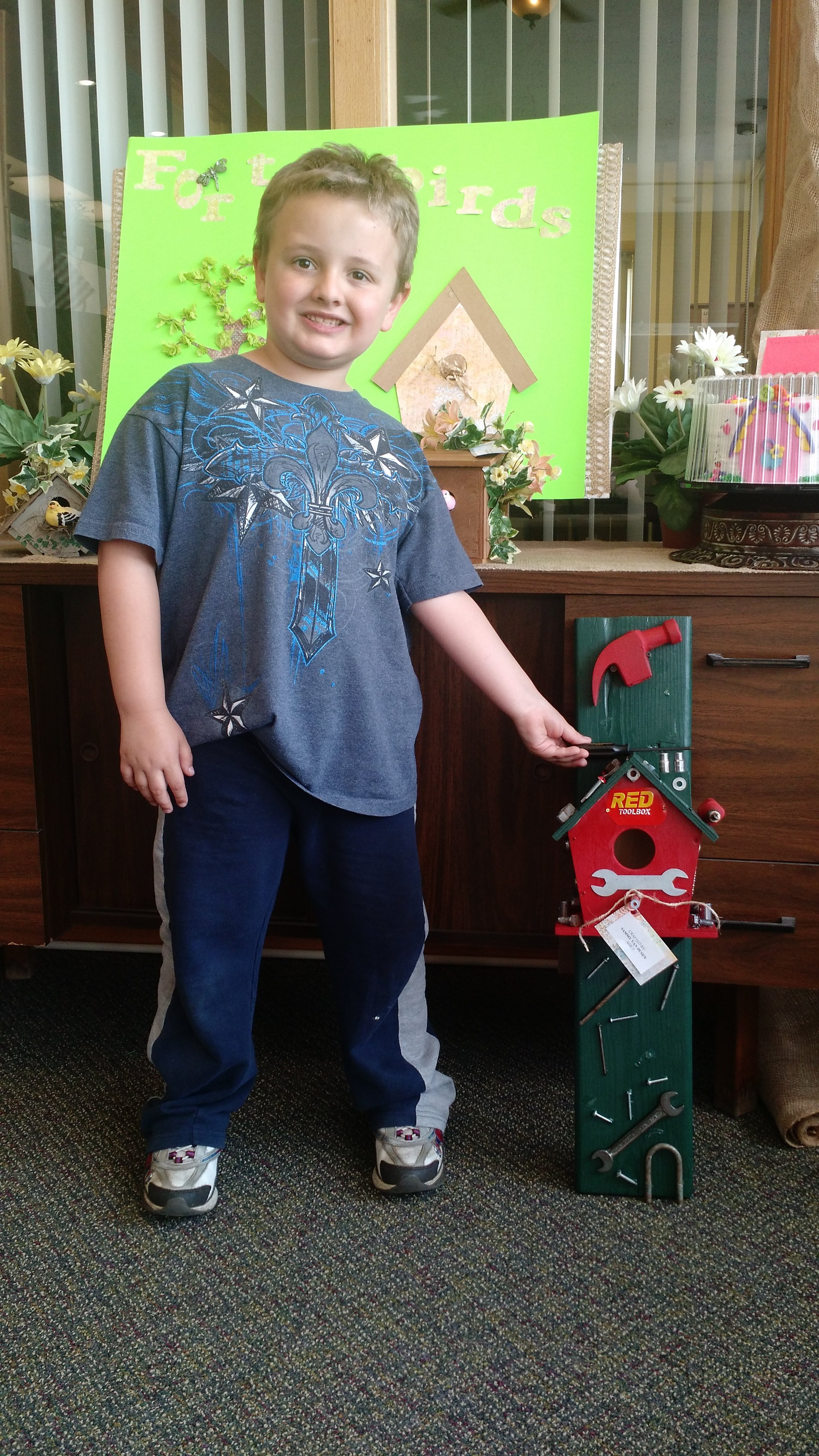 Kentland Bird House Contest Winner - Sammy
