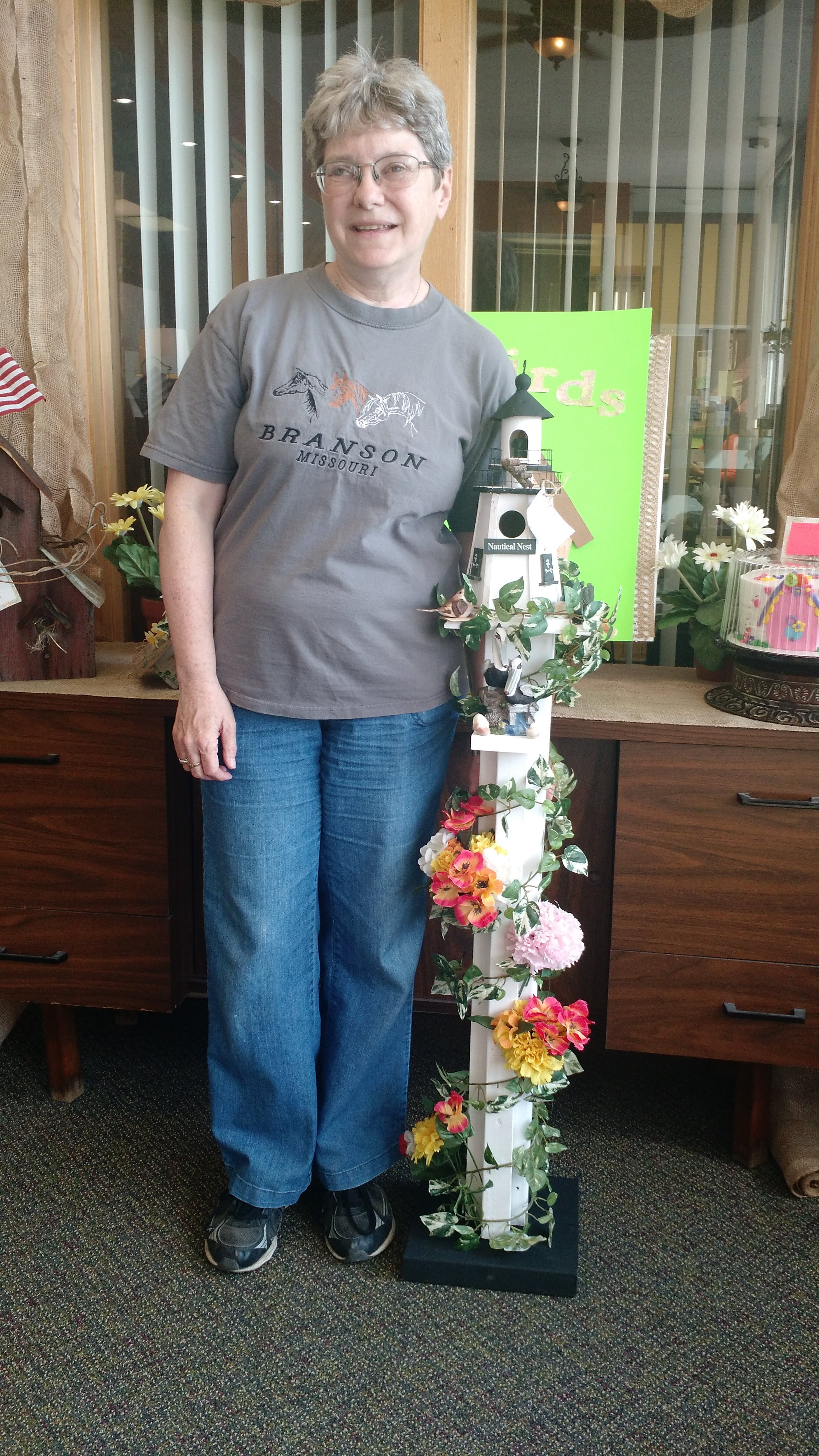 Kentland Bird House Contest Winner - Carolyn