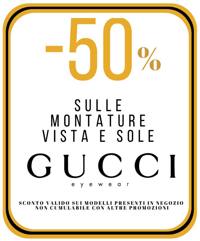 offerta montature Gucci