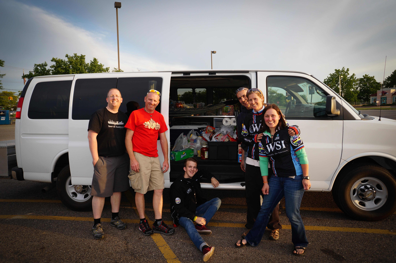 2013 RAAM crew.