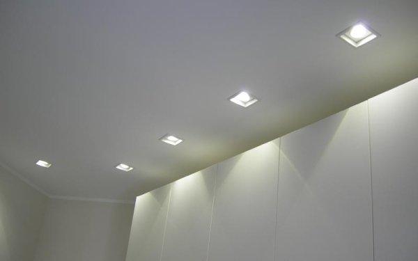 illuminazione tetto
