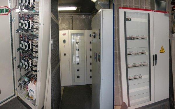 Visione Power Center di cabina dopo sostituzione