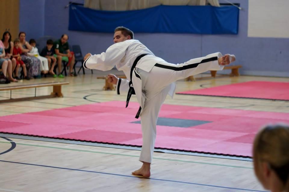 display of Martial Arts