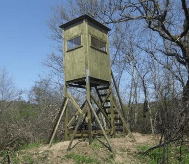 altana in legno