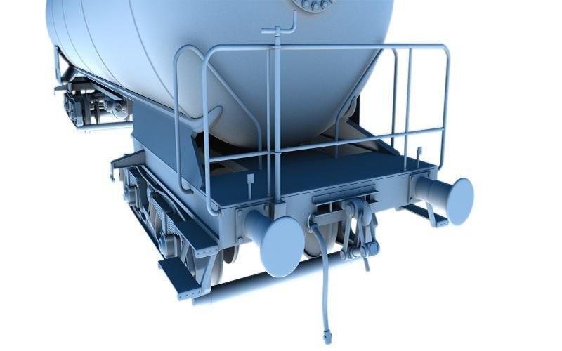 modello 3D anteriore cisterna