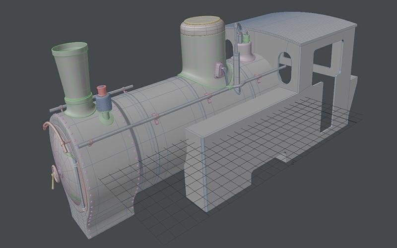 modello locomotiva