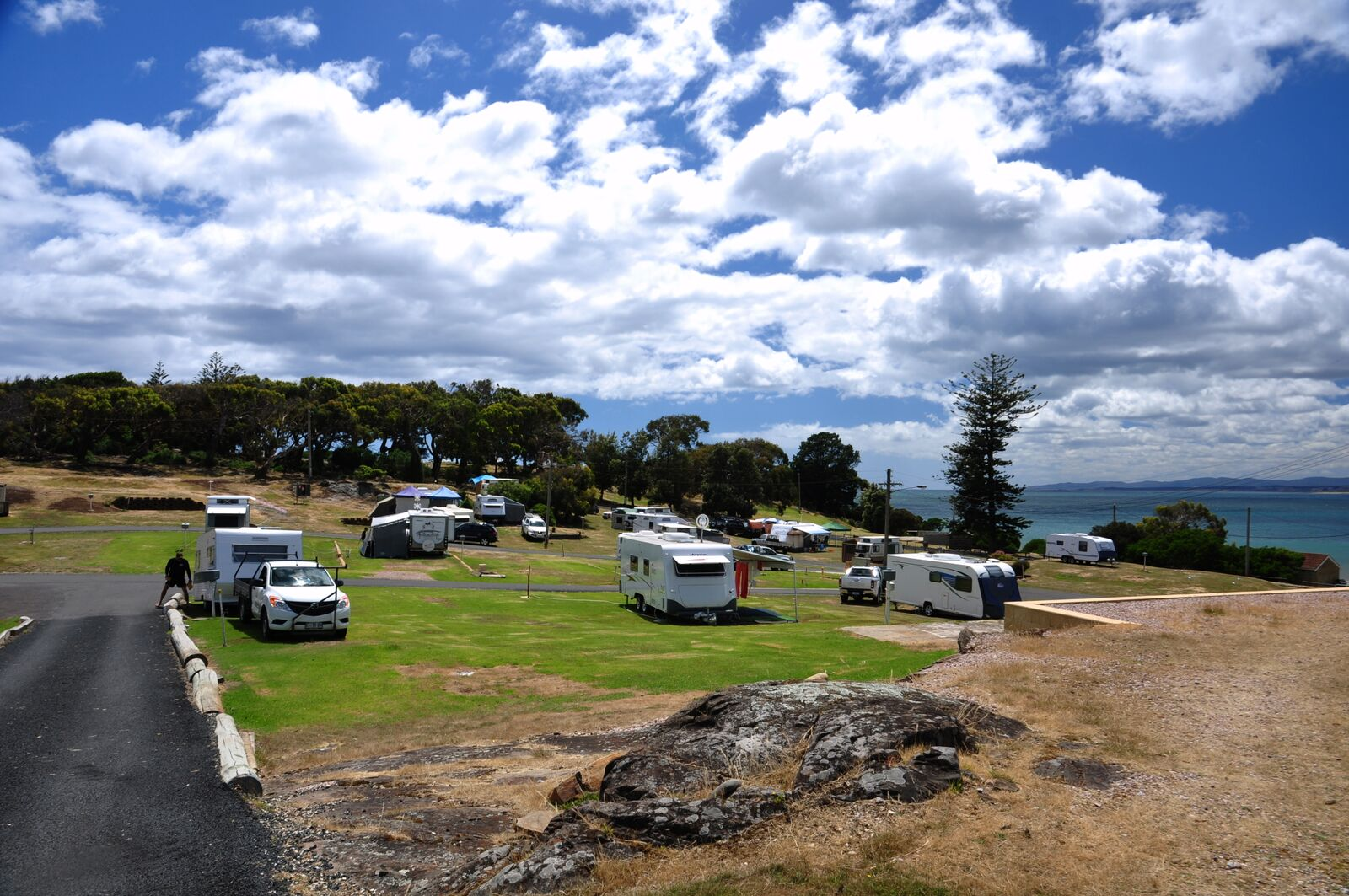 campsites devonport tas mersey bluff caravan park. Black Bedroom Furniture Sets. Home Design Ideas