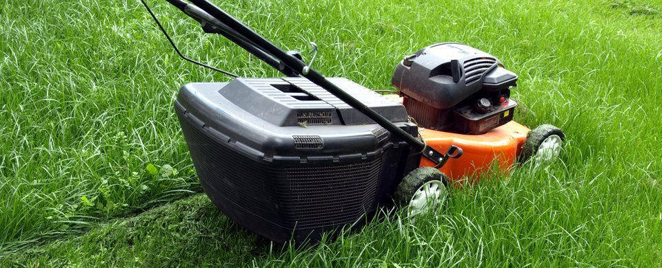 second-hand lawnmowers