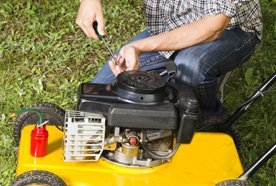 Lawn mower motor repairs