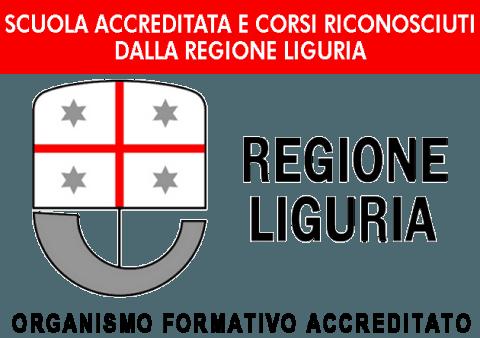 Scuola accreditata e corsi riconosciuti dalla Regione Liguria