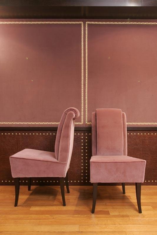 sedie rosa