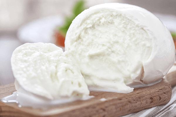 mozzarella produzione e vendita