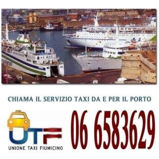 taxi per il porto di civitavecchia