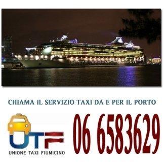 taxi per il porto di civitavecchia, taxi sbarco nave da crociera