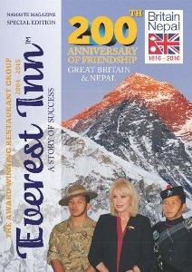 Everest Inn Magazine front cover
