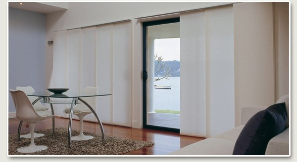 roslay window furnishings luxaflex panel glides and vertical blinds