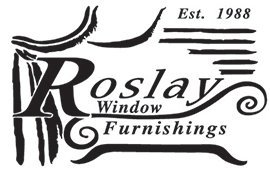 roslay window furnishings business logo