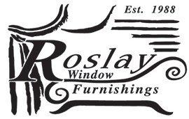 roslay window furnishings business logo