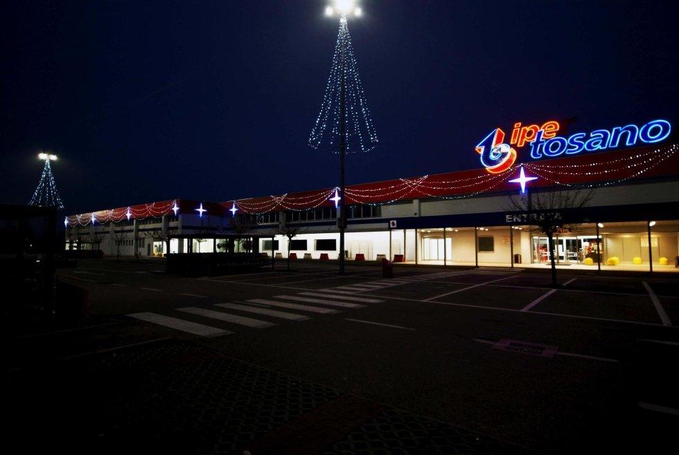 noleggio luminarie natalizie