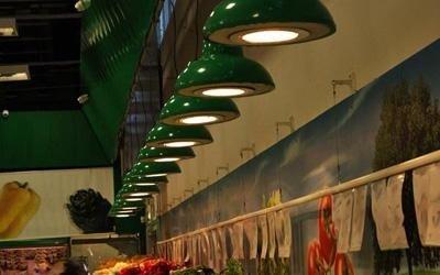 luci per negozi e punti vendita