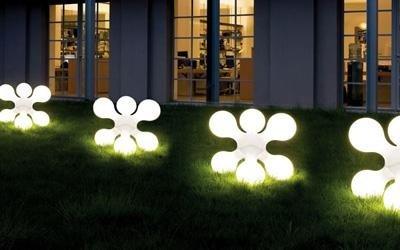 aspetti architettonici illuminazione esterno
