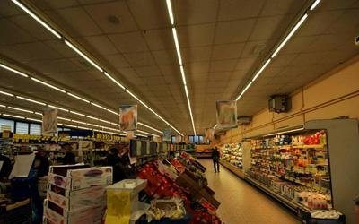 lampade a led per supermercati