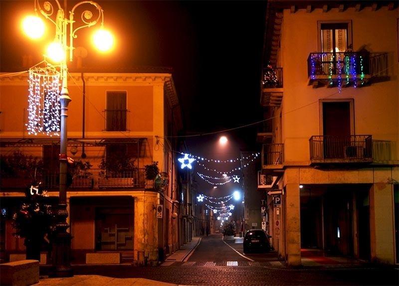 luminarie natalizie stradali