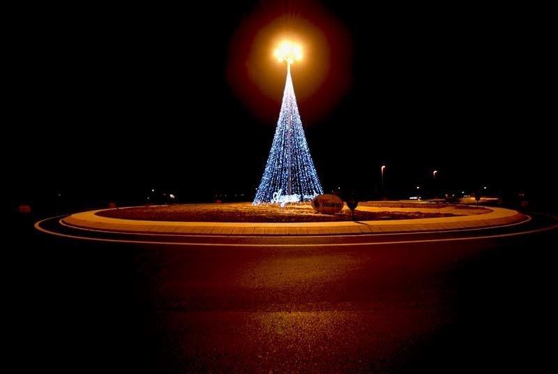 Alberi di Natale luminosi