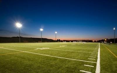 impianto illuminazione per campo da calcio