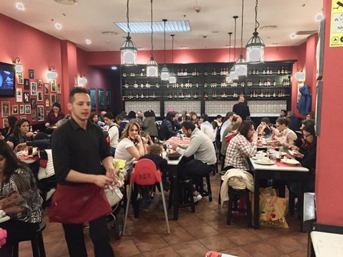 ristorante cento panini a Palermo