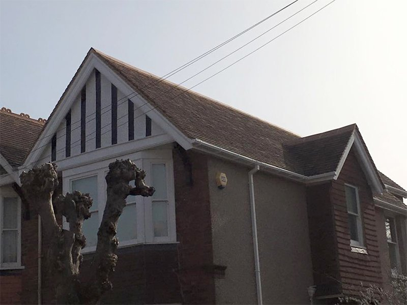 Sloping roof repairs