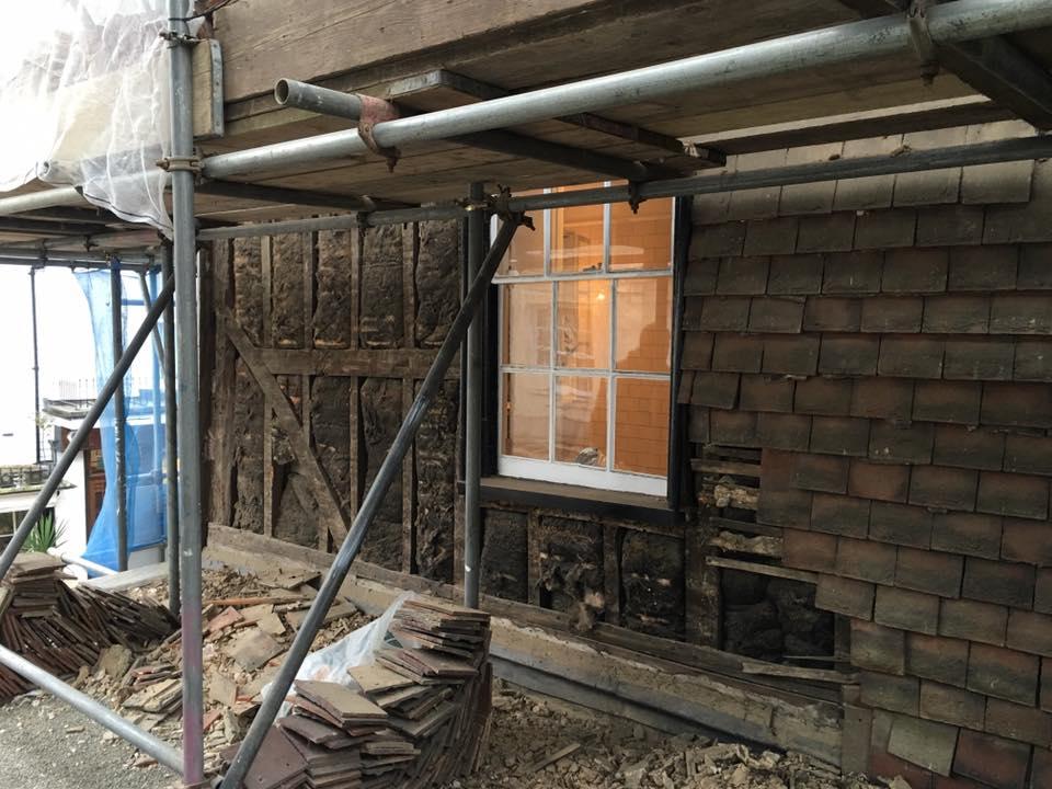 Wall reconstruction