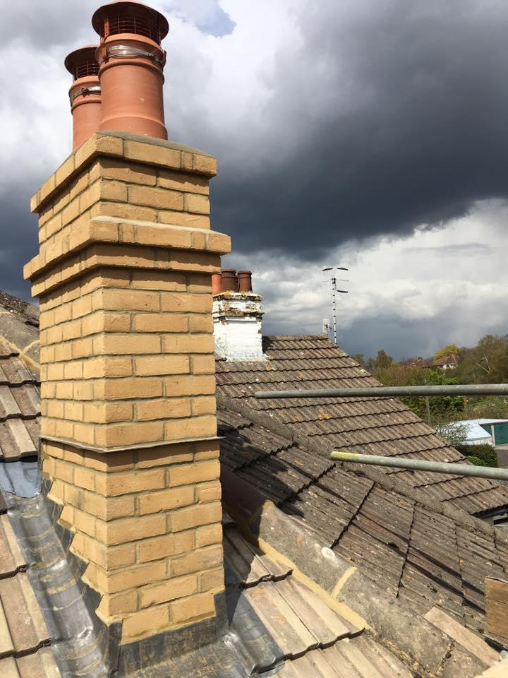 Chimney renovations