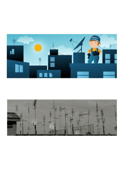 Digivideo installa antenne per utilizzo televisivo e radiofonico.