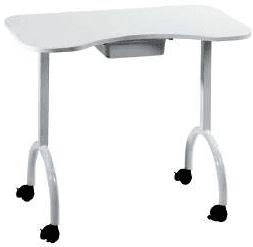 Tavolo manicure portatile con cassetto