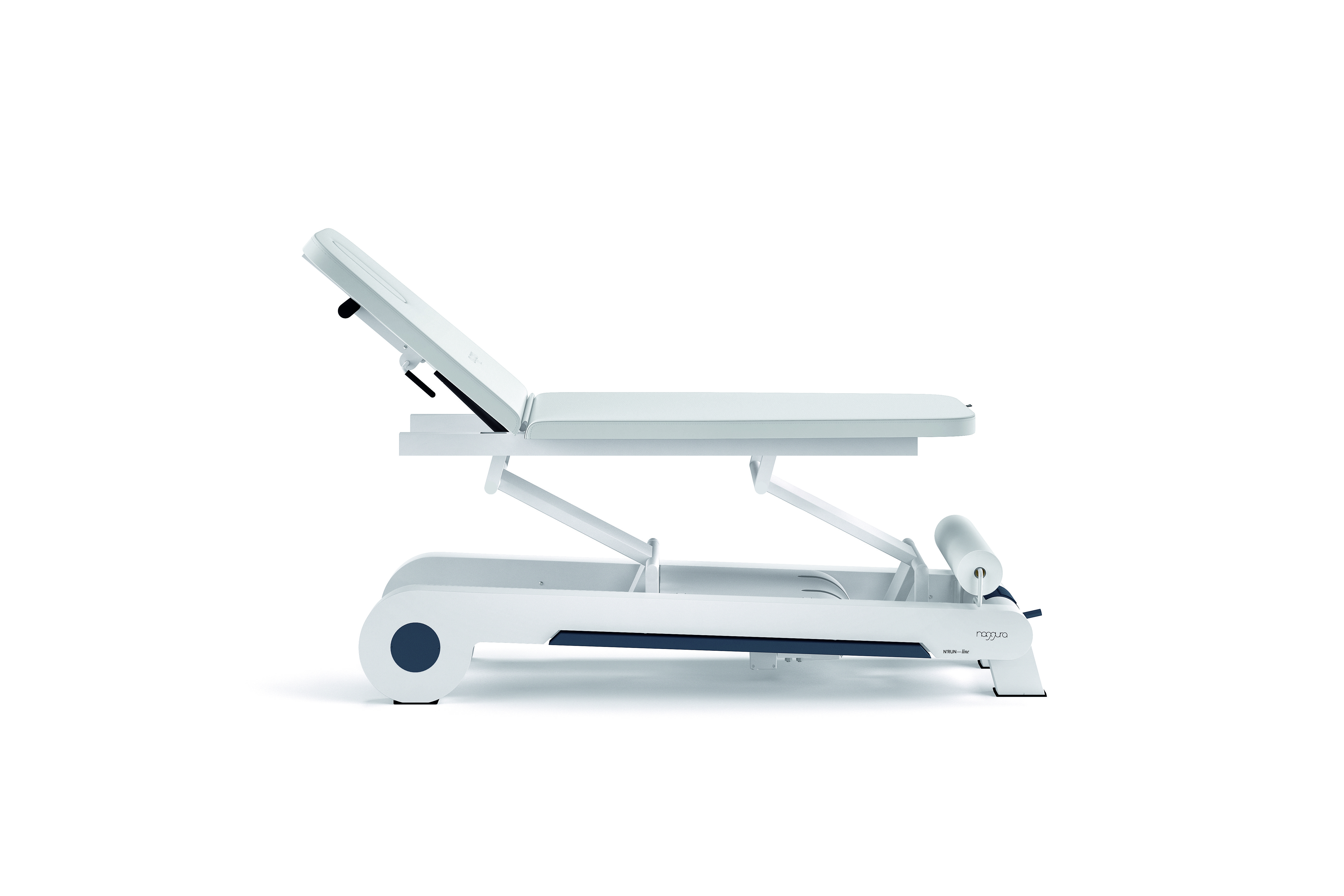 struttura di un lettino da massaggio