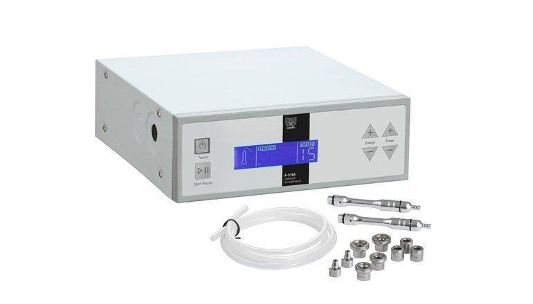 Apparecchiatura di microdermoabrasione elettronica