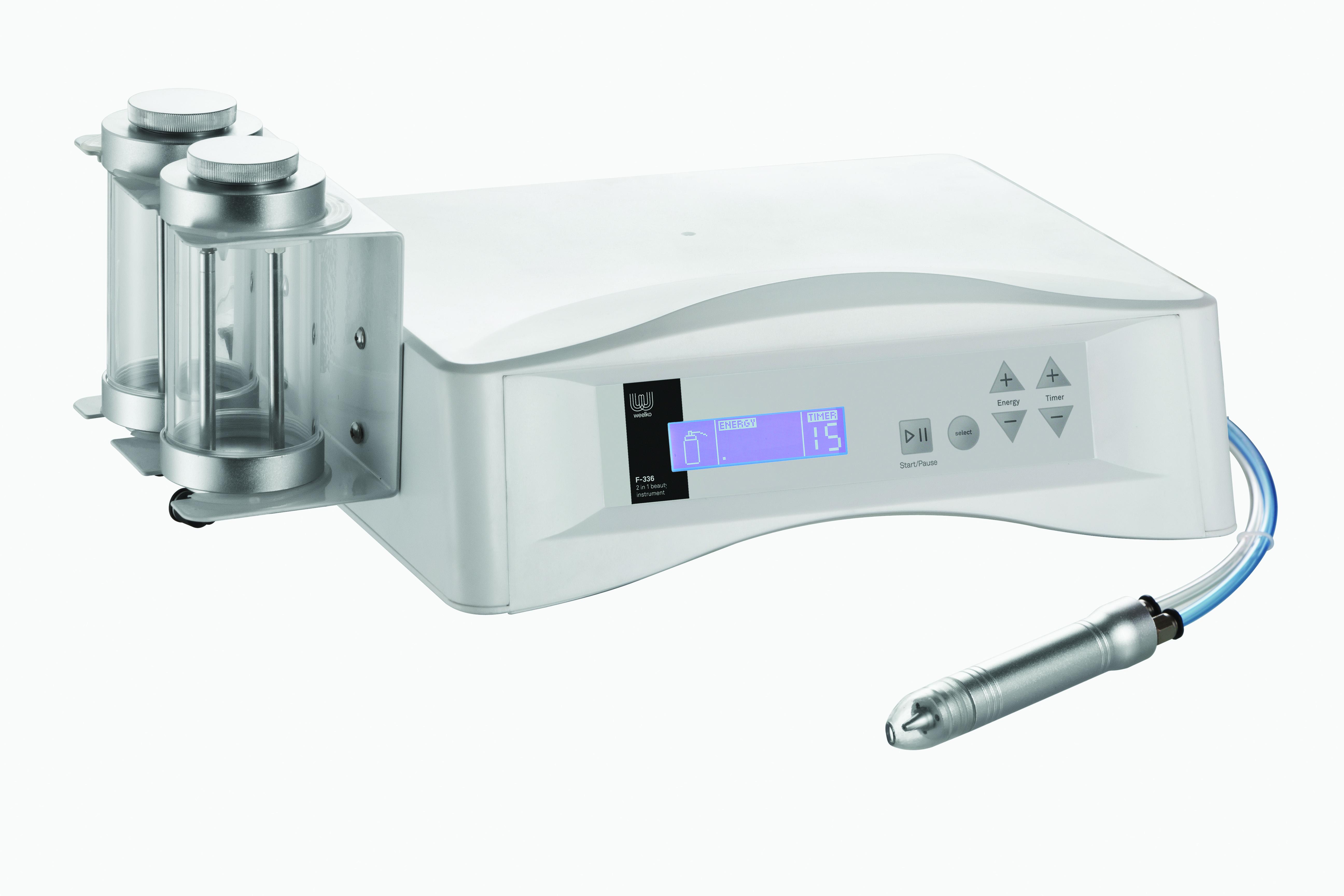 Apparecchiatura di microdermoabrasione con micro cristalli