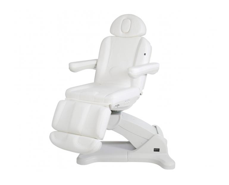 Poltrona reclinabile bianca