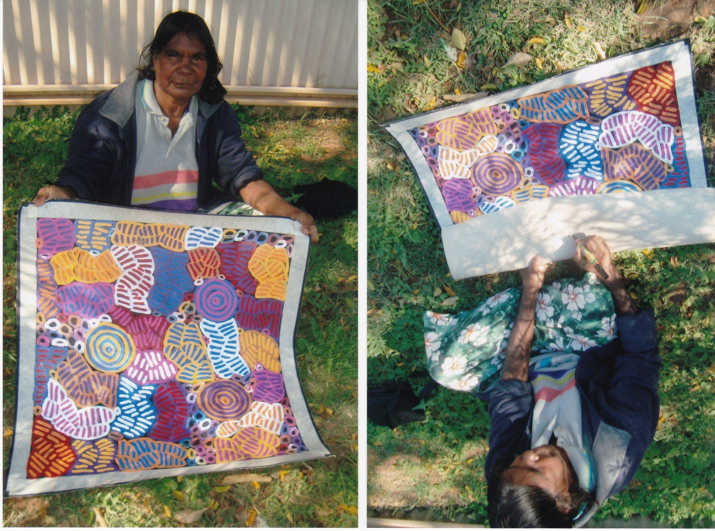 Indigenous Art  by Betty Mbitjana