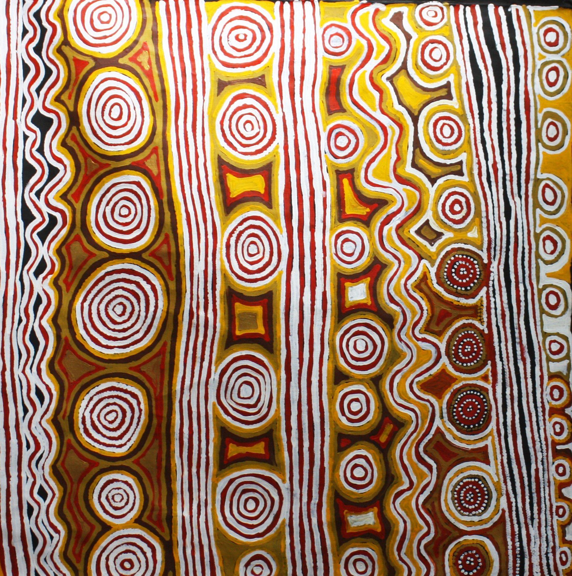 Mary Brown Napangardi Aboriginal Art for sale