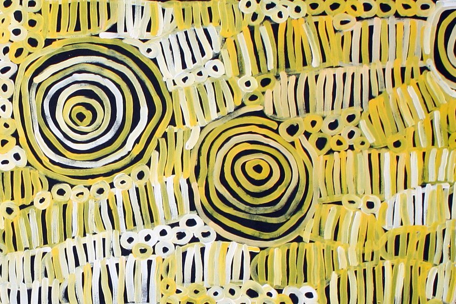 Minnie Pwerle aboriginal art for sale