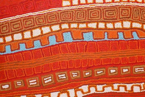 Patrick Tjungarryi Indigenous artist