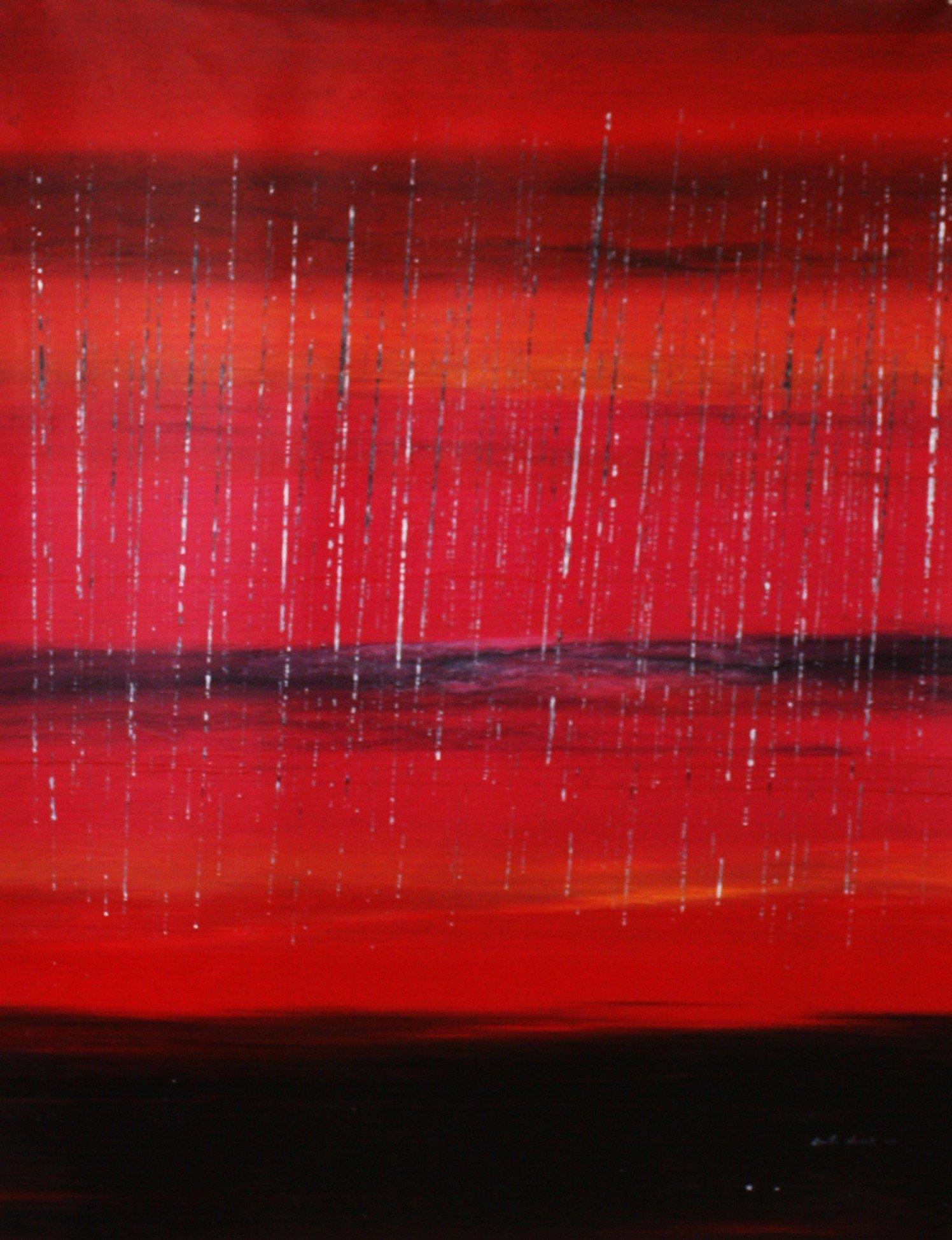 Morning rain… were Yorky's Knob