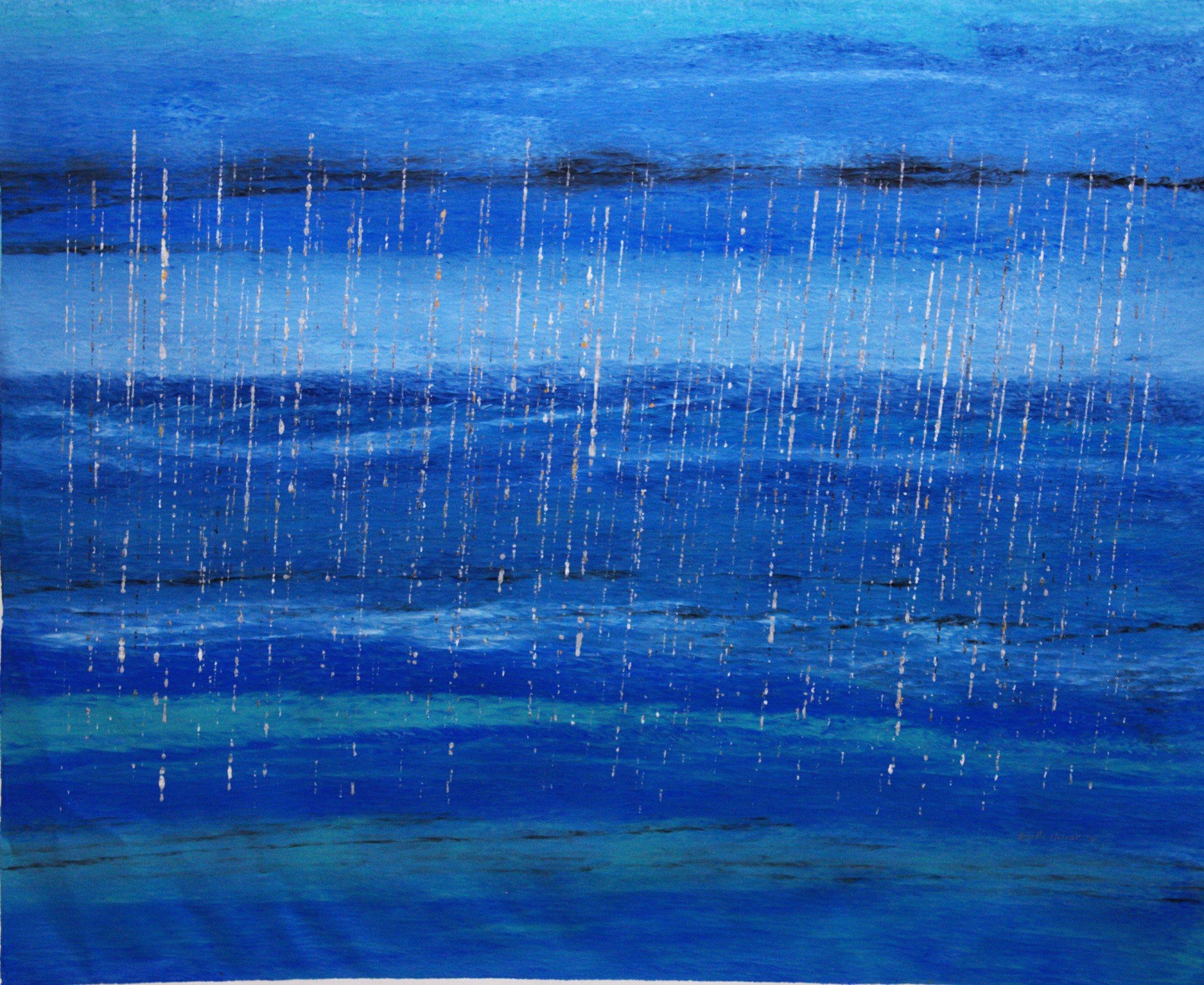 Stinging Rain… Out at sea