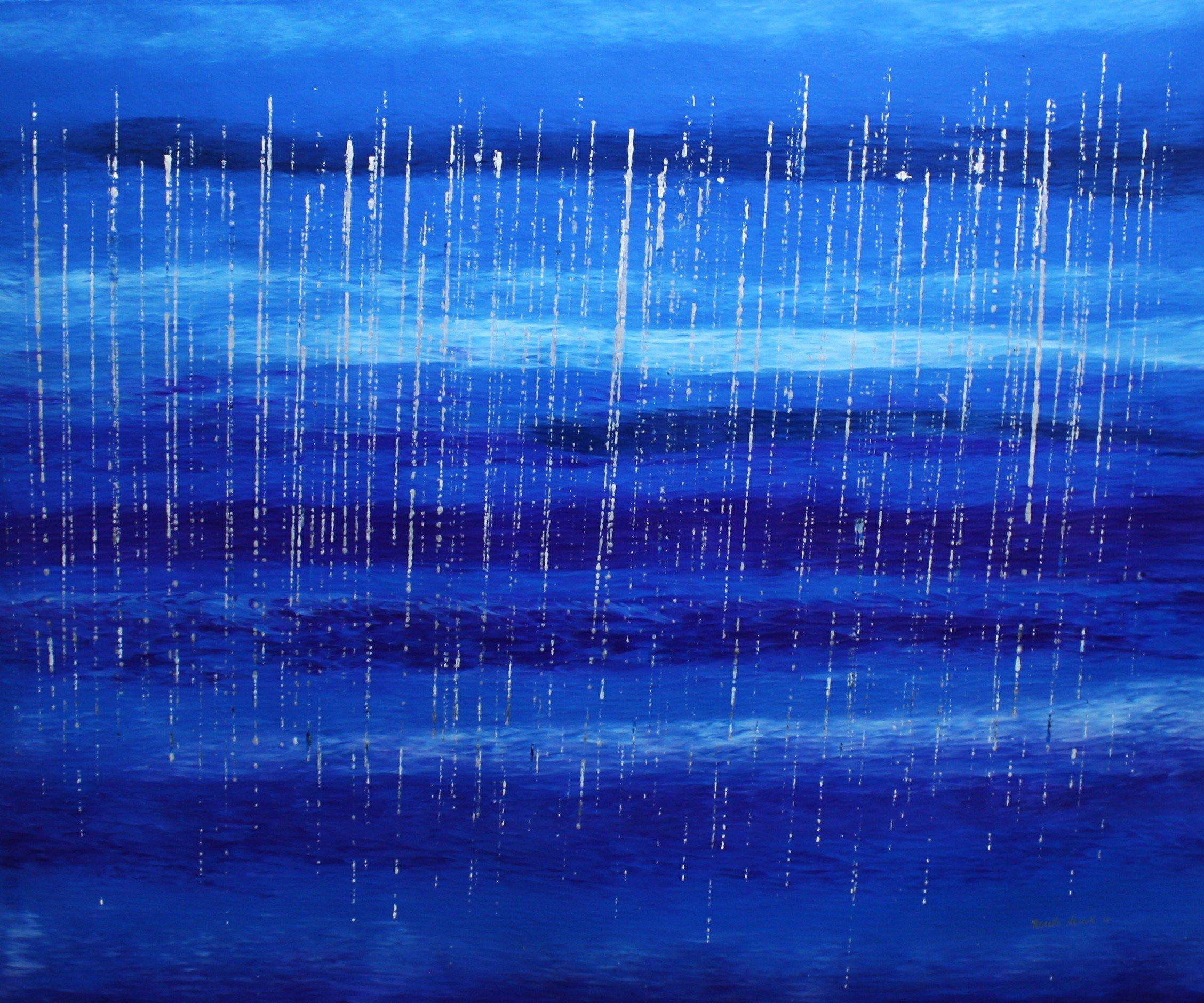 Stingin rain… in the valley
