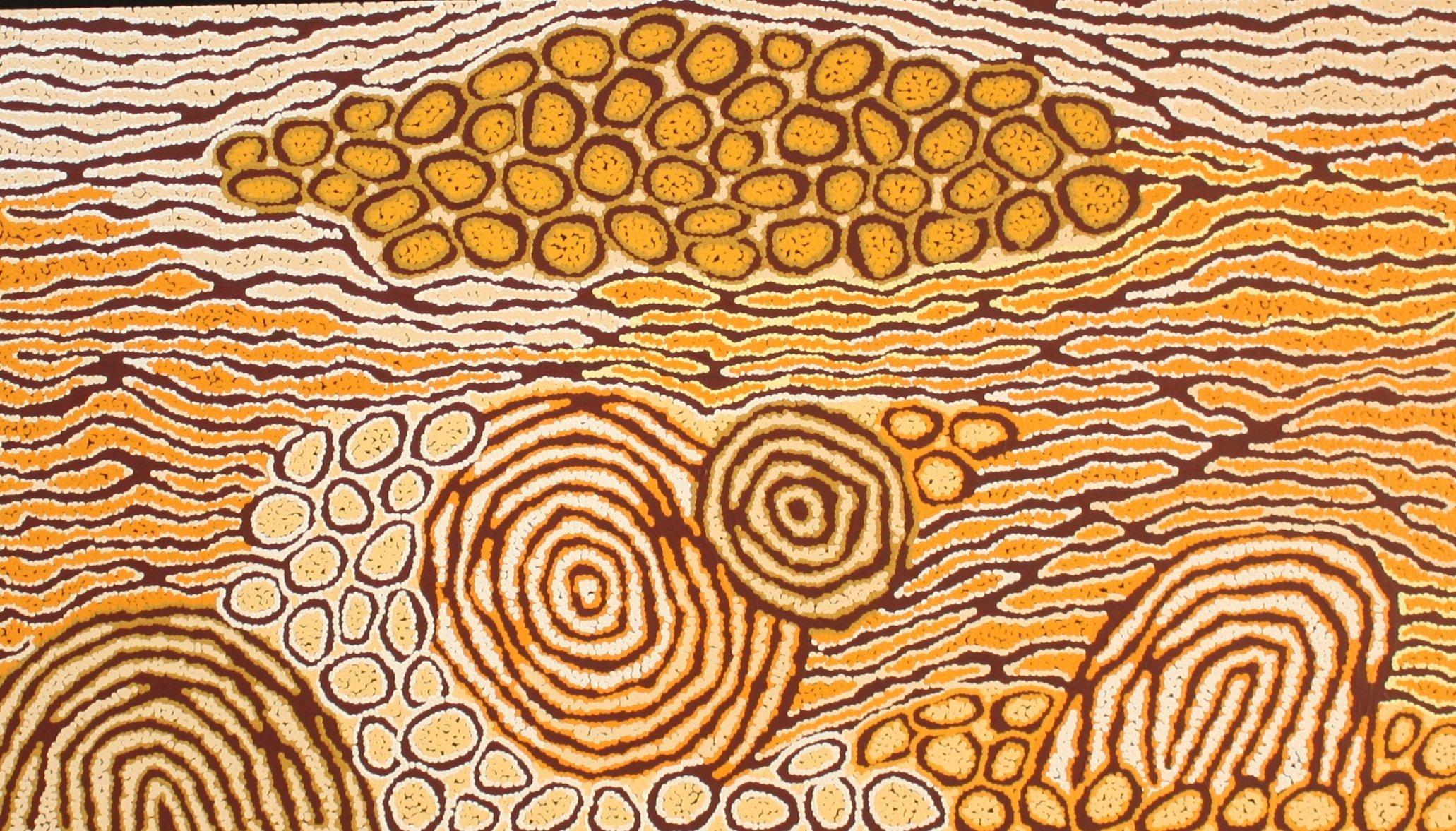 Walangkura Napanangka artwork