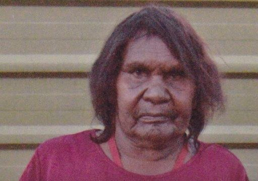 Evelyn Putlara Aboriginal Artist